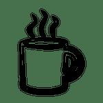 steamy mug (graphic)
